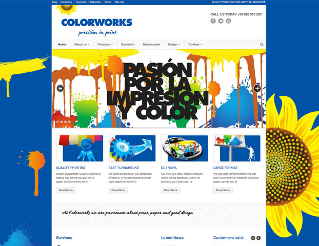 colorworks printers in lanzarote