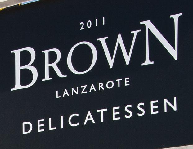 brown delicatessen costa teguise