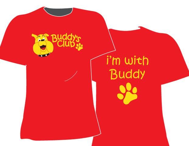 buddys club t'shirt