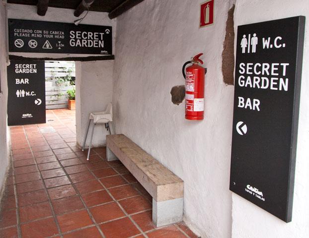 cantina teguise signage